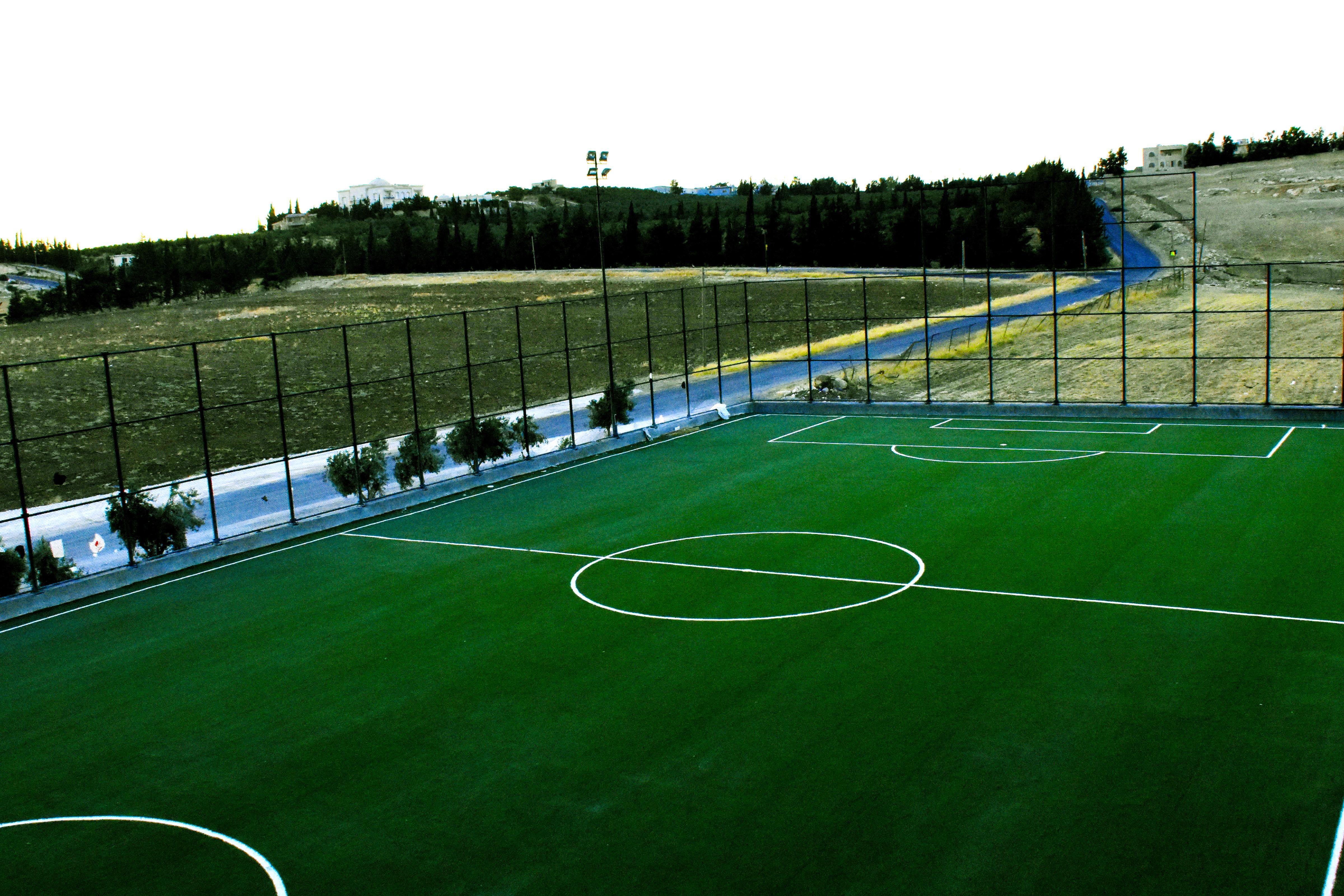 6yard outdoor football field amman