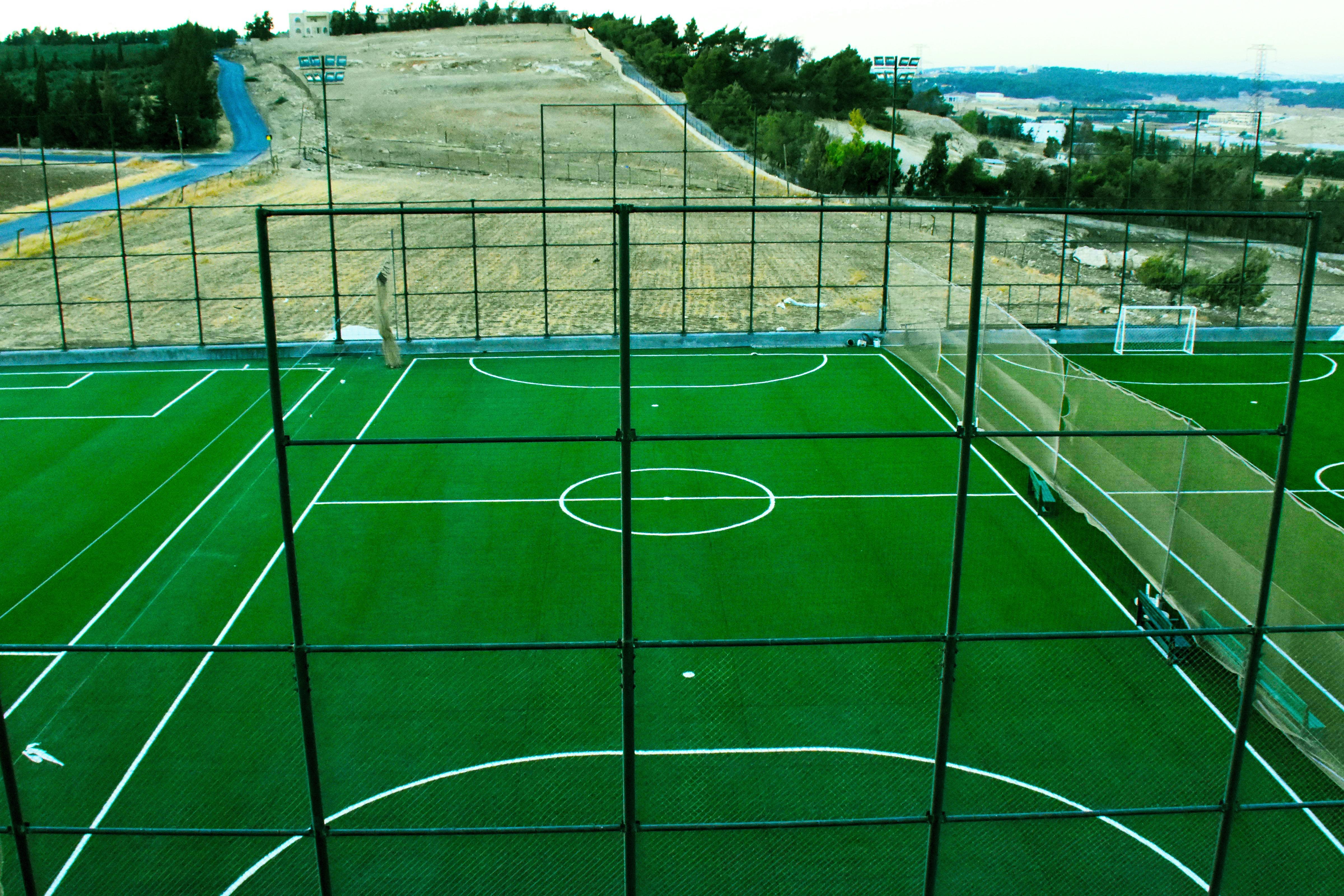 outdoor football field 6yard amman