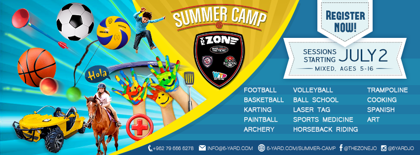 summer camp at the zone