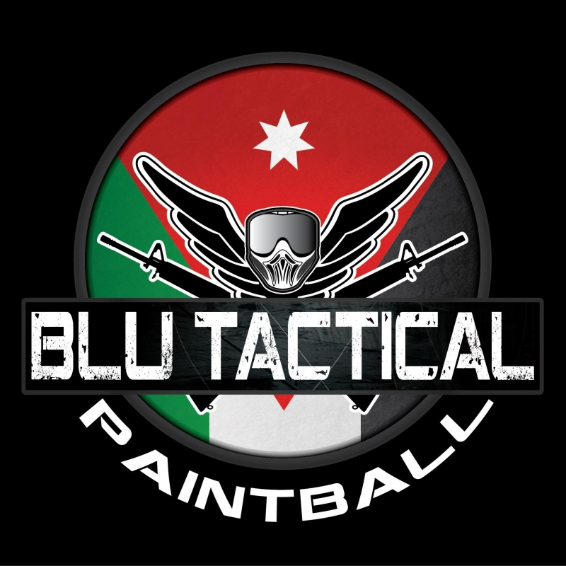blu tactical paintball logo